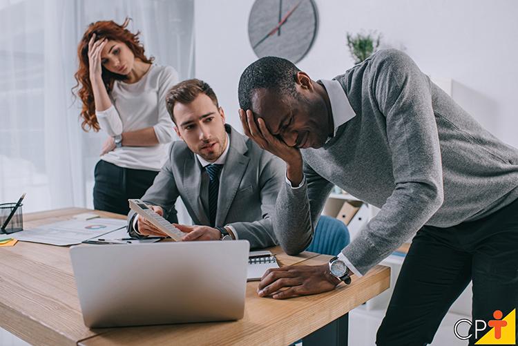 Crise na empresa - imagem meramente ilustrativa
