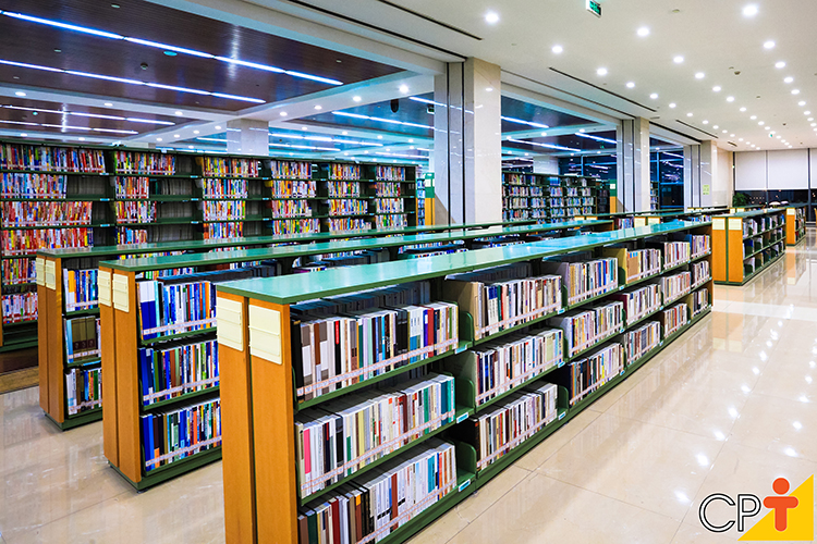 Livraria - imagem ilustrativa