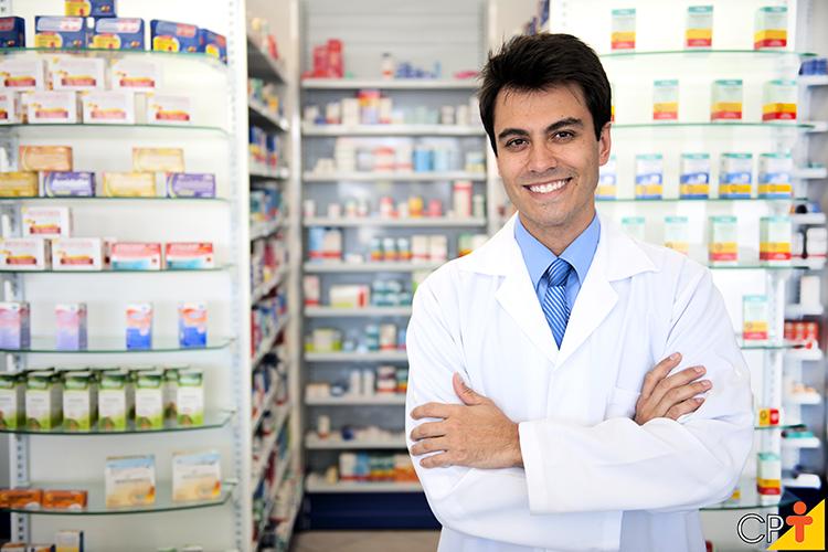 Atendente de farmácia - imagem ilustrativa