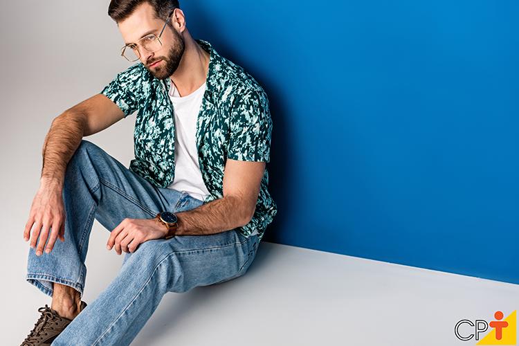 Moda masculina - imagem ilustrativa