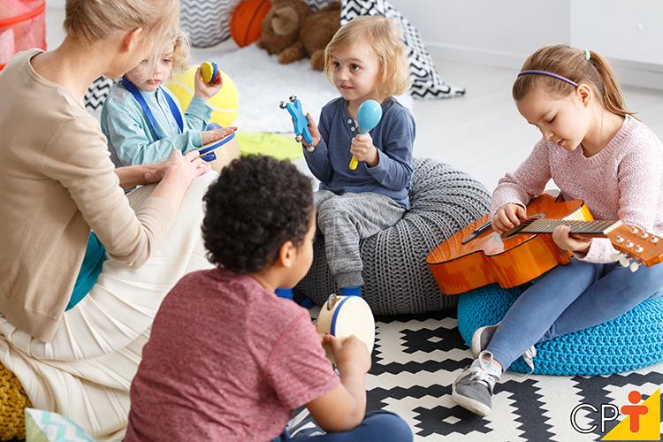 Musicalização infantil - imagem ilustrativa