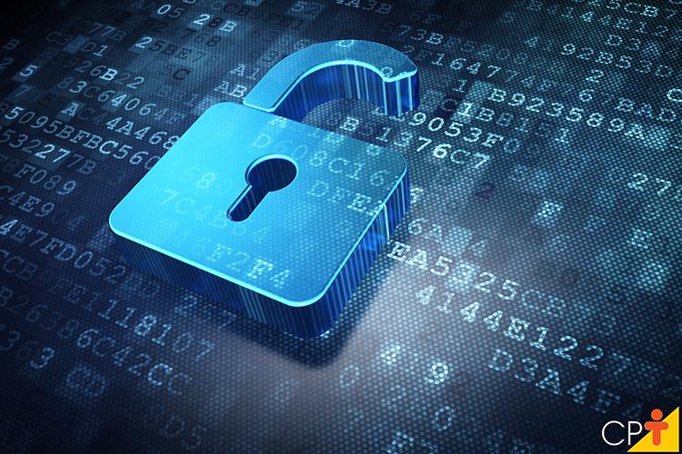Segurança digital - imagem ilustrativa
