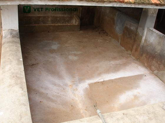Foto ilustração vazio sanitário.