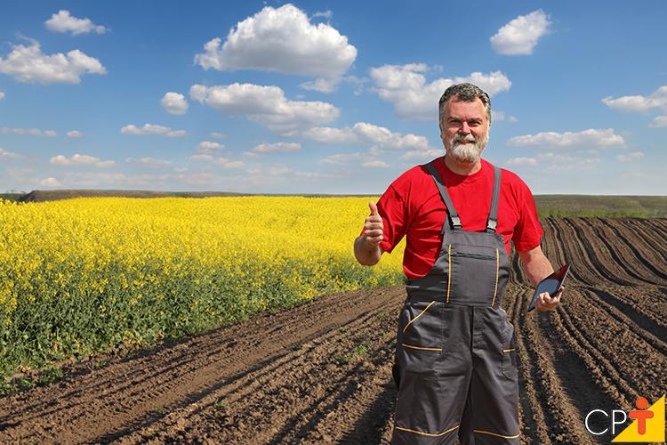 Produtor rural - imagem meramente ilustrativa