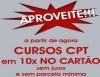 Promoção de cursos do CPT