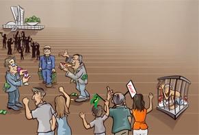 Políticos brasileiros: acreditar no impossível.