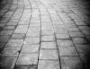Lodo pode virar concreto para recompor calçadas