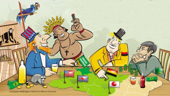 Internacionalização da Amazônia, assunto para ser levado a sério.