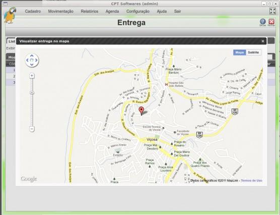 Módulo Entrega - google maps