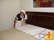 Treinamento de governanta: limpeza