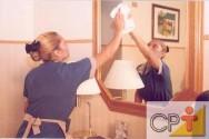 Treinamento de camareira - o uso dos produtos de limpeza
