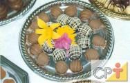 Bombons e truffas - temperar o chocolate