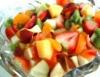 Salada de frutas no verão