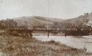 Ponte de Braúna, em Porto Firme,  dinamitada em 1932