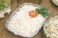 Profissional avançado de cozinha - arroz soltinho
