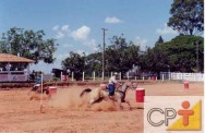 Provas equestres - a prova dos três tambores