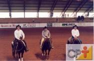 Provas equestres - a prova das seis balizas