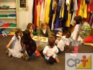 Teatro na educação infantil: interferência do professor