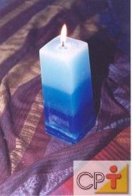 Velas decorativas: o pavio da vela