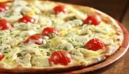 Aprenda a fazer pizza colorida