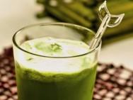 Os benefícios do suco verde