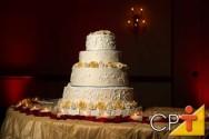 Bolos e biscoitos: bolo de casamento