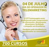04 de julho: Dia do Operador de Telemarketing