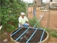 Projeto reaproveita água no semi-árido nordestino