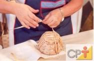 Artesanato em palha de milho: a palha