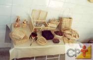Artesanato em palha de milho: preparo da palha