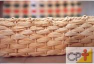 Artesanato em palha de milho: seleção das fibras