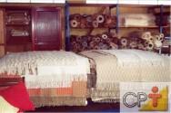 Para a confecção das peças são utilizados diversos equipamentos