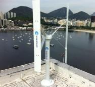 Empresa cria turbina eólica para uso residencial
