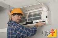 Condicionadores de ar de grande porte: técnico de refrigeração