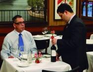 Maître: recebimento dos clientes e tipos de serviço