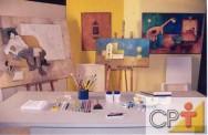 Pintura em acrílica: materiais
