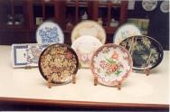 Pintura em porcelana é uma atividade artística típica das classes mais altas