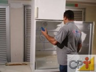 A regulagem do termostato influencia diretamente no funcionamento do refrigerador