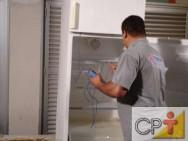O refrigerador ou freezer deve ser instalado em local bem arejado, limpo e de fácil acesso.