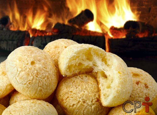 Etapa: congelamento do pão de queijo   Artigos Cursos CPT
