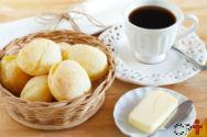 Etapa: mistura do pão de queijo   Artigos Cursos CPT