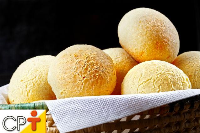 Pão de queijo: processamento   Artigos Cursos CPT