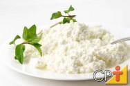 Produção de queijo reino, cottage, coalho e ricota: queijo cottage
