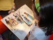 O hábito da leitura começa na infância