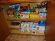 Despensa organizada ajuda na dieta