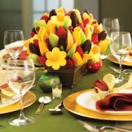 Aprenda Fácil Editora: Arranjo de Frutas é Inovação na Decoração de Natal