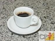 Treinamento de barista: consumo de café