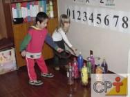 Confecção de brinquedos com sucata: jogo de argolas