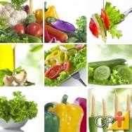 A alimentação saudável tem três qualidades essenciais: variedade, moderação e equilíbrio.