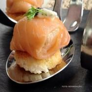 Salgados finos - aprenda a preparar um delicioso bombom de salmão